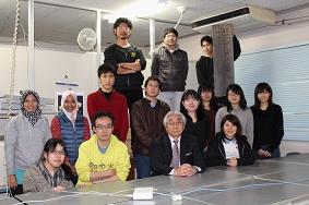 小山先生と最後の写真撮影